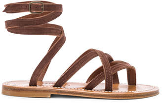 K. Jacques Zenobie Ankle Wrap Sandal