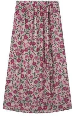 Sale - Alyssa Floral Lurex Skirt - Women's Collection - Louise Misha