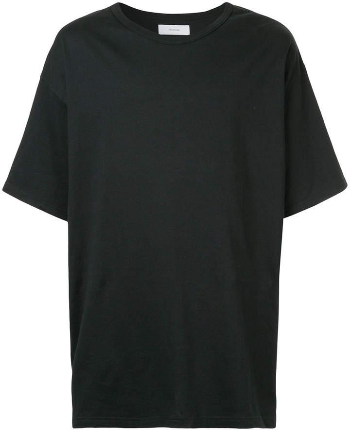 rear stripe detail T-shirt