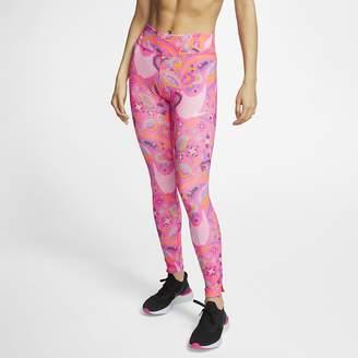 Nike Women's Printed Running Tights Fast