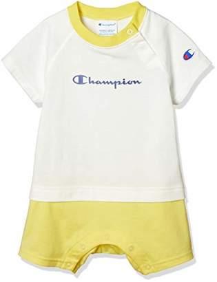 Champion (チャンピオン) - [チャンピオン] ドッキングTシャツ CS6085 キッズ オフホワイト 日本 70 (日本サイズ70 相当)