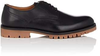 Barneys New York Men's Lug-Sole Leather Bluchers