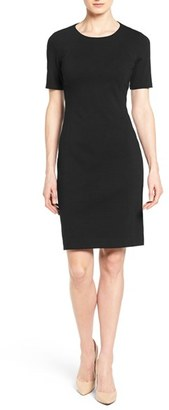 Women's T Tahari 'Judianne' Short Sleeve Sheath Dress $98 thestylecure.com