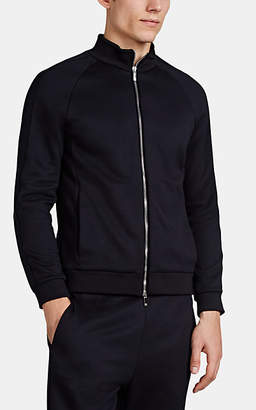 Giorgio Armani Men's Stretch-Jersey Jacket - Navy