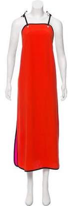 Victoria Beckham Victoria Sleeveless Colorblock Dress