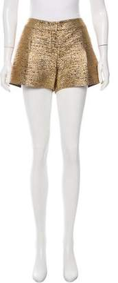 Lanvin Textured Metallic Shorts w/ Tags