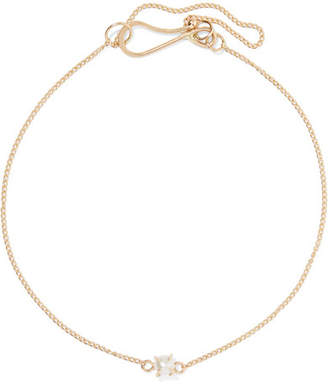 Melissa Joy Manning 14-karat Gold Pearl Bracelet