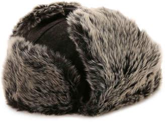 Dockers Furry Trapper Hat -Charcoal (Accessories) - Men's
