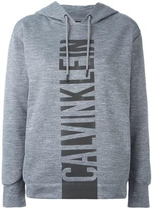 Calvin Klein Jeans logo print hoodie $115.89 thestylecure.com