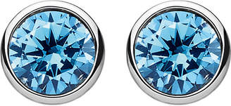 Thomas Sabo Classic blue stone sterling silver ear studs