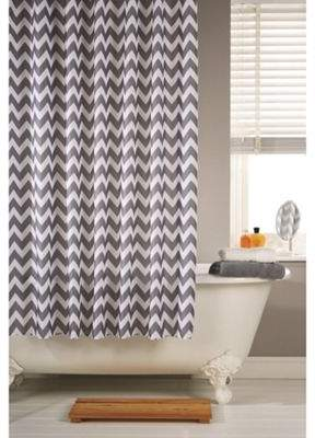 Rails Hamilton Mcbride Printed Shower Curtain & Rings Set - Chevron