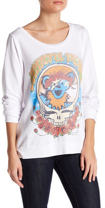 Lauren Moshi Long Sleeve Graphic Pullover $145 thestylecure.com
