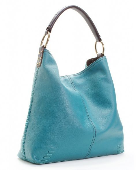 Lucky Brand Jeans Leather Slouch Tote