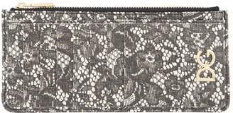 Dolce & Gabbana Floral Leather Card Holder