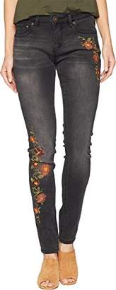 Jag Jeans Women's Sheridan Skinny Jean with Embroidery