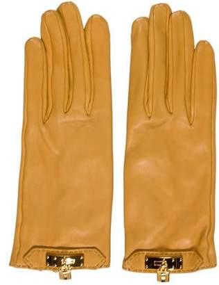 Hermes Soya Lambskin Gloves