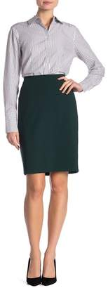 Modern American Designer Lux Vented Pencil Skirt