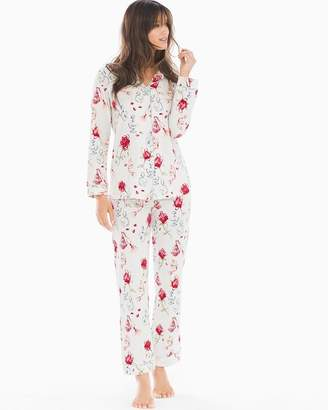 BedHead Knit Cotton-Blend Pajama Set