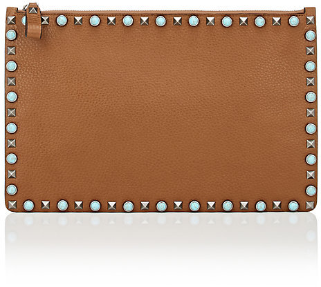 Valentino Women's Rockstud Rolling Large Pouch