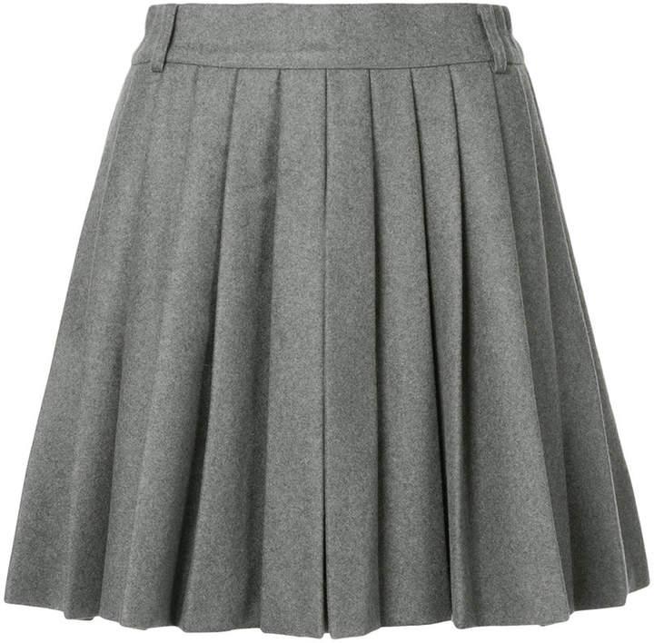 Plissierte Shorts