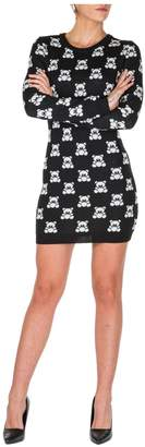 Moschino Short Mini Dress Long Sleeve