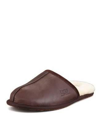 UGG Leather Scuff Mule Slipper $90 thestylecure.com