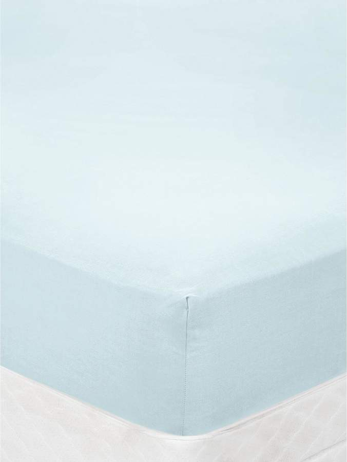 Pure Cotton 200 Thread Count Fitted Sheet