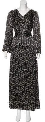 Trina Turk Silk Maxi Dress w/ Tags