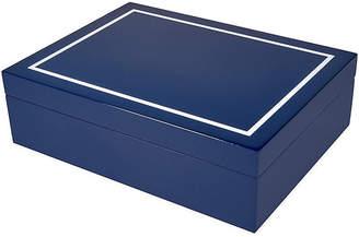 One Kings Lane Touro Jewelry Box - Blue
