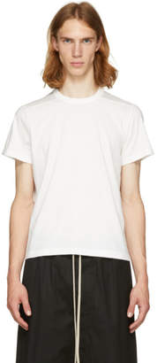 Rick Owens White Level T-Shirt