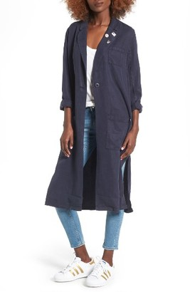 Women's Obey Torn City Coat $106 thestylecure.com