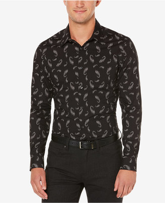 Perry Ellis Men's Big & Tall Scattered Paisley Shirt, A Macy's Exclusive Style $79.50 thestylecure.com