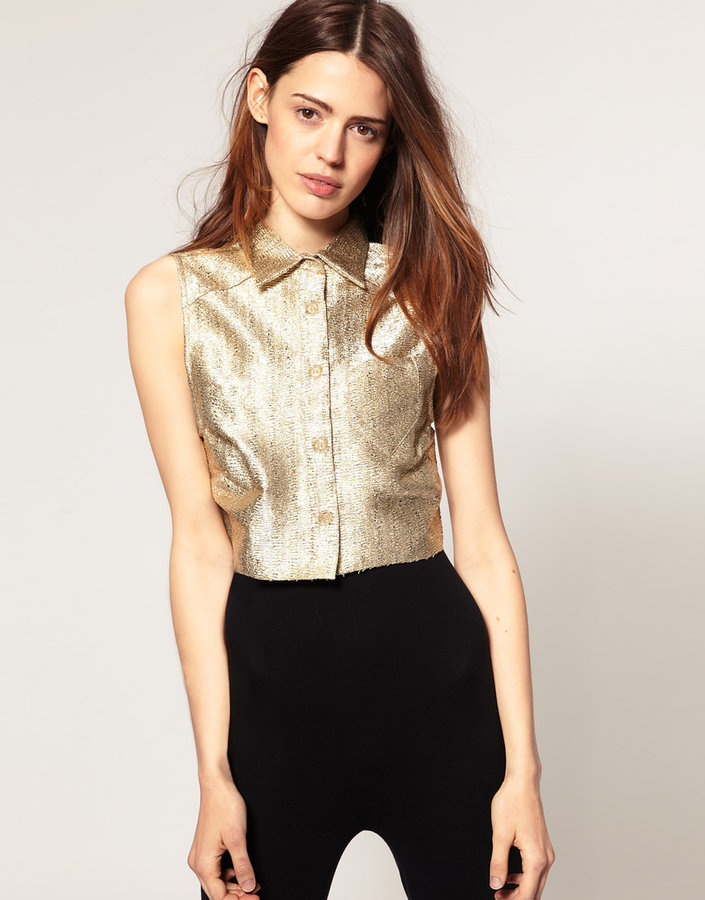 ASOS Metallic Shirt