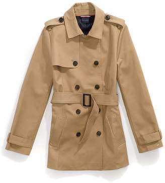 Tommy Hilfiger Short Trench Coat