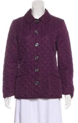 Burberry Long Sleeve Short Coat
