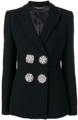 Philipp Plein crystal embellished blazer