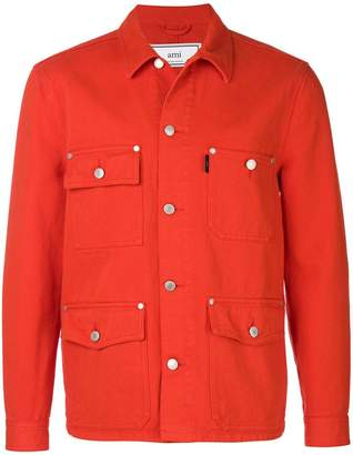 Ami Alexandre Mattiussi Worker denim jacket