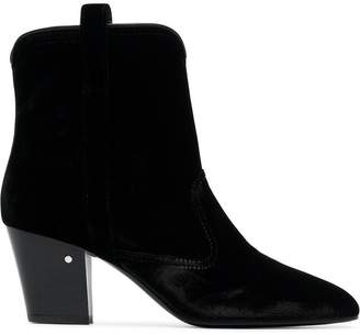 Laurence Dacade Sheryll 70 Velvet Ankle Boots