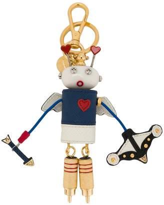 Prada robot keychain