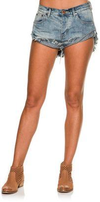 One Teaspoon Bandit Denim Shorts $107.95 thestylecure.com