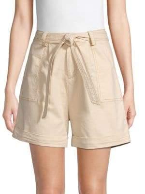 Lea & Viola High-Rise Utility Shorts
