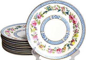 One Kings Lane Vintage Antique Dinner Plates - Set of 10 - Portfolio No.6