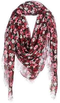 Saint Laurent Square scarf