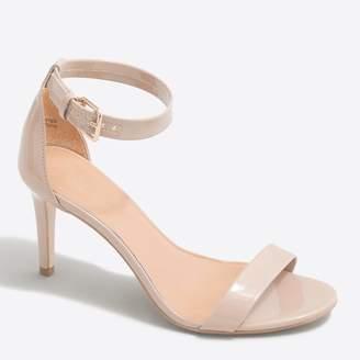 J.Crew Factory Patent high-heel sandals