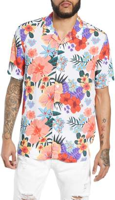 Topman Hawaiian Print Shirt