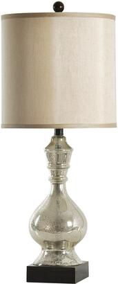 Stylecraft Style Craft 31In Mercury Glass Table Lamp