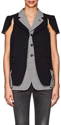 Comme des Garcons Women's Deconstructed Wool Blazer