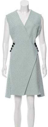 Christian Dior Jacquard A-Line Dress