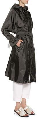Moncler Washington Long Raincoat