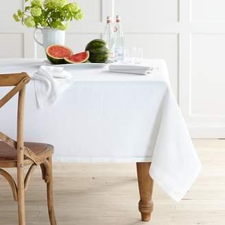 Williams-Sonoma Williams Sonoma Linen Double Hemstitch Tablecloth